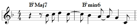 Look of Love Subdominant Minor